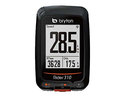 BRYTON(ブライトン) RIDER 310 E (ライダー310E) GPSサイクルコンピューター(単体) TB0F0R310EBLK