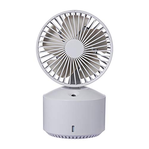 Spray fan USB opladen desktop kleine ventilator grijze nevel hydraterende mini luchtbevochtiger
