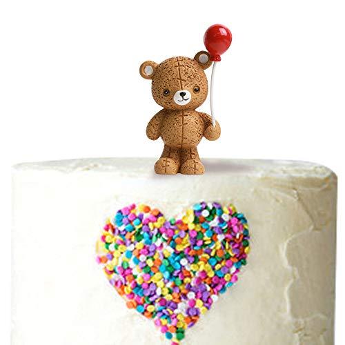 Balloon Bear Cake Topper (Resin)