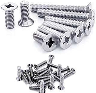 Royal Apex Machine Screw CSK Philip & Countersunk Head for DIY Electrical & Kitchen Furniture Pull Cabinet Door Handles Pa...