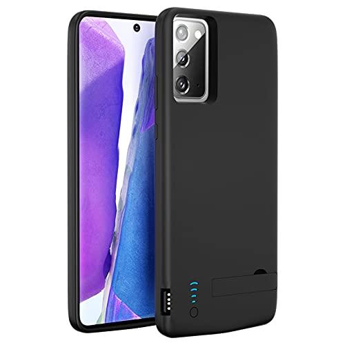 Funda Batería para Samsung Note 20, 6000mAh Funda Cargador Portatil Carcasa Batería Recargable Batería Externa para Samsung Galaxy Note 20 5G [6,7 Pulgadas]
