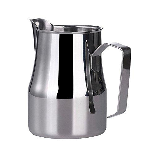 EgoEra® Pot à Lait INOX/Pichet Eau/Pichet à Café/Pichet Mousseur Cruche à Lait, 350ML