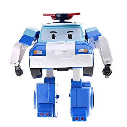 Robocar Poli - Robocar Transformable Poli - Robot ou Voiture - 10 cm - Jouet Maternelle
