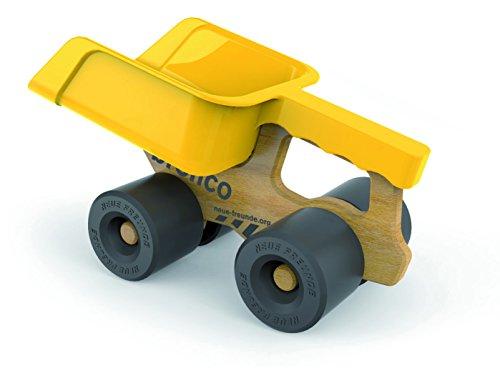 Neue Freunde Bronco, der Schaufel Truck - Lastwagen, Kipper, Radlader, Aufräumen, Sandkasten, Holzspielzeug, Holzauto, Holz