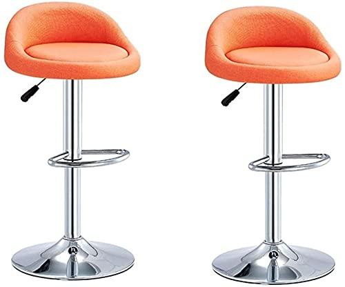 Sgabelli Da Bar Girevoli Regolabili Sedie a barre orientabili regolabili, sgabello da bar in metallo sgabello da bagno all'aperto con schienale, moderni sgabelli da bancone industriale set di 2 sedili