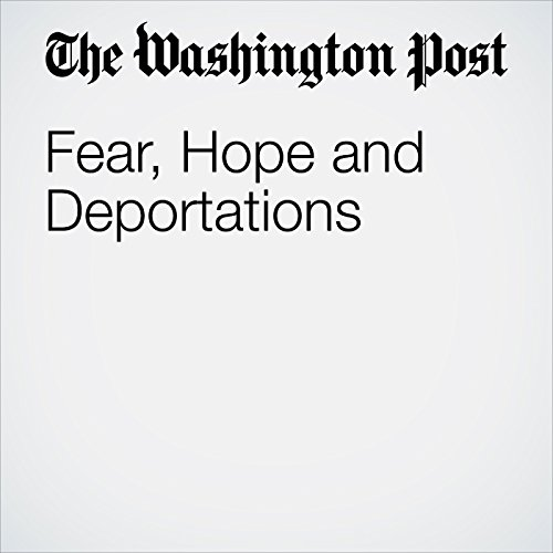 Fear, Hope and Deportations audiobook cover art