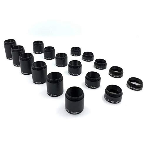 Microscope Objective RMS Extenders Adaptor Accessories Parfocal Length Extension Ring Adapter