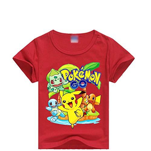 PCLOUD Childrens Cartoon Print T-Shirt