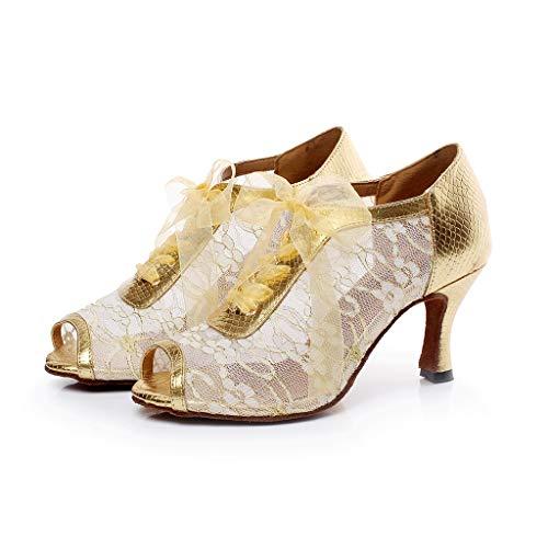JHDPH3 Chaussure Danse Femme Chaussures Cuir Femme...