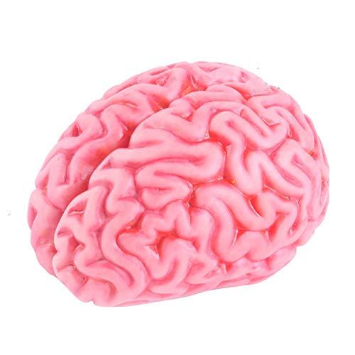 STOBOK Halloween simulación Vinilo Sangriento Cerebro Molde Artificial Horror Halloween Prop Juguete / 1 unids