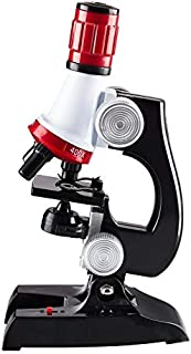 Elikliv 100X-1200X Kids Beginner LED Microscope Toy Set + Slides Preparation Kit