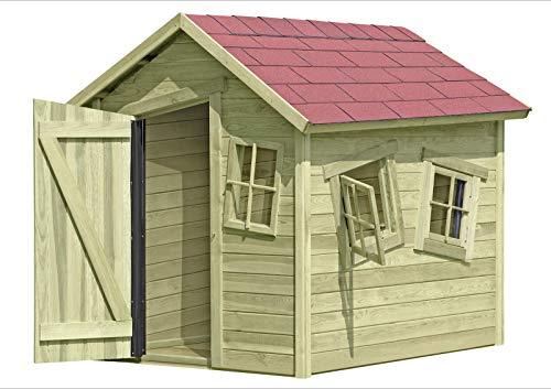 Spielhaus Marie-Fun aus Holz Gartenhaus für Kinder, TÜV-geprüft