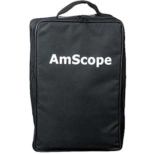AmScope CB-B490 Vinyl Carrying Bag for Microscopes