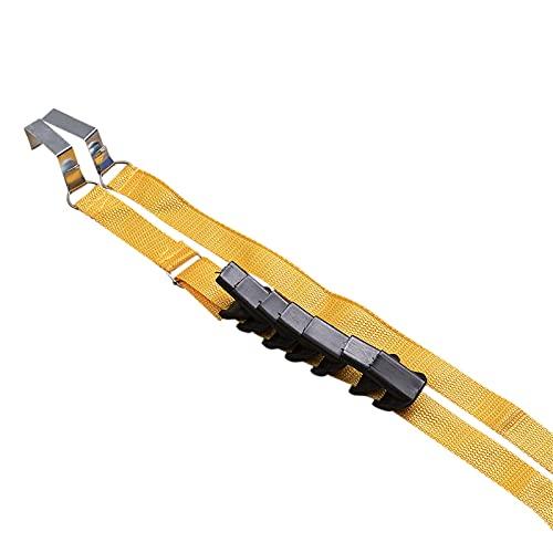 KOPASD Correas Ajustables sobre la Percha de la Percha de la Percha de la Percha de la colgadora de los Ganchos del Estante tendedero (Color : K)