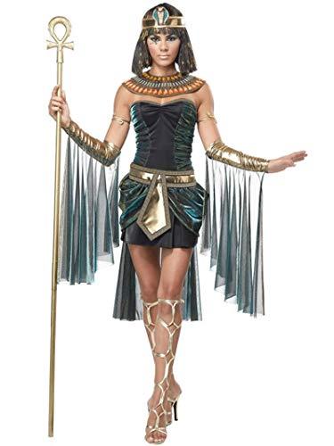 California Costumes Women's Eye Candy - Egyptian Goddess Adult, Black/Teal, Medium