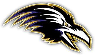 Baltimore USA Sport Ravenss Football Logo Car Bumper Sticker Decal 6'' X 3''
