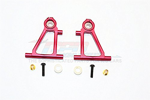 GPM Tamiya TT-01 Upgrade Pièces Aluminium Front Lower Arm Set - 1Pr Red
