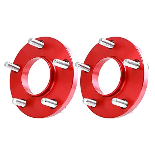 Pindex Élargisseur de voie 5 x 120 | 10mm rondelles d'espacement avec vis (M12 x 1,5 x 37 mm).