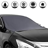 Shynerk Magnetic Edges Car Snow Cover, Frost Car Windshield Snow Cover, Frost Guard Protector, Ice...