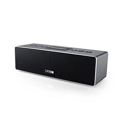 Canton 03686 Musicbox XS Bluetooth Lautsprecher titan/silber