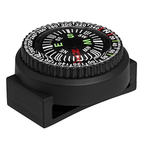 Luminox Men's Black Polycarbonate Compass with loop