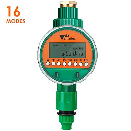 amzdeal Programmateur d'Arrosage Automatique Minuterie Irrigation de...