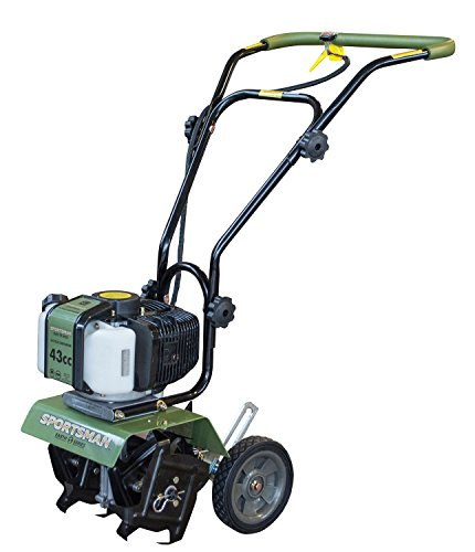 Sportsman Earth Series 43cc Mini Cultivator - 2 Cycle, Green
