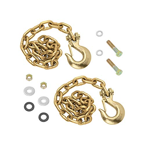 Reese 49151 Goose Box Accessory, 20K Safety Chain Kit (Contains: (2) Grade 70, 3/8