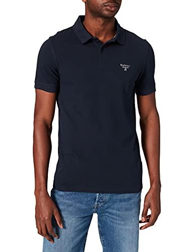 Barbour Herren Polo T-Shirt, Azul, S