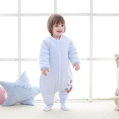 Wikkeldeken Universal Baby, katoenen quilt-bever voor kinderen blue_100 yards 2-3 jaar oud, babyslaapzak Safe Nights