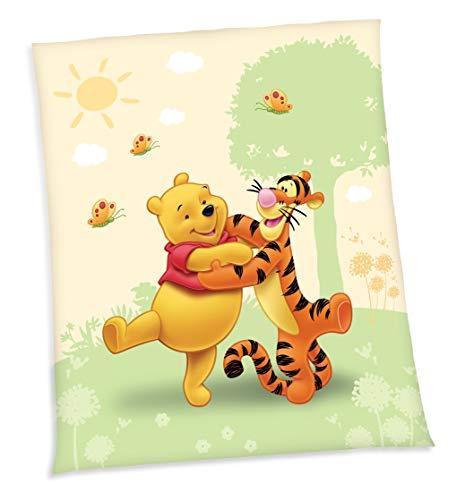 Herding 752280035 Fleecedecke Winnie Pooh, 130 x 160 cm