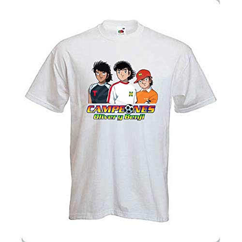 Desconocido Camiseta CAMPEONES. Oliver Y Benji.