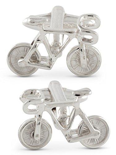 zaunick bicicleta Gemelos, transportable, Plata 925Hecha a mano