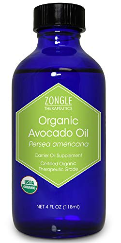 Zongle USDA Certified Organic Avocado Oil, Safe To...