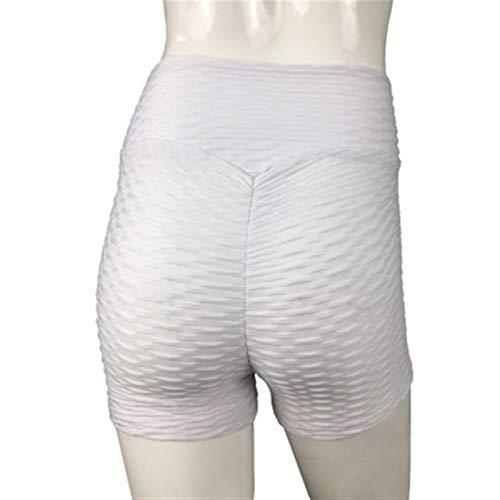 LBBL Leggings y medias deportivas Pantalones Cortos Yoga Mujer, Leggings Empuje Hacia Arriba Pantalones Cortos Elásticos Cintura Alta Correr Pantalones Cortos Deportivos Mujer Mallas Sexis mujeres pan