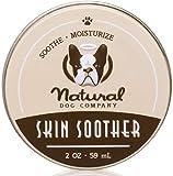 Natural Dog Company Skin Soother 59 ml | Bálsamo de curación – Puntos Calientes, foliculitis bacteriano, Dermatitis