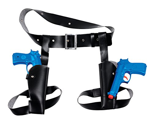 Thigh Twin Holster Gun Set The Perfect Costume Accessory Accessory Includes Thigh Twin Holster Gun Set
