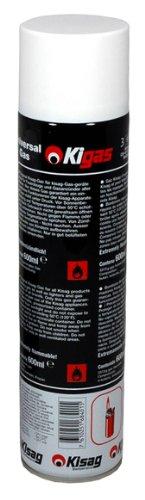 Kisag Kigas Ersatzgas Nachfüllflasche Maxi 600 ml