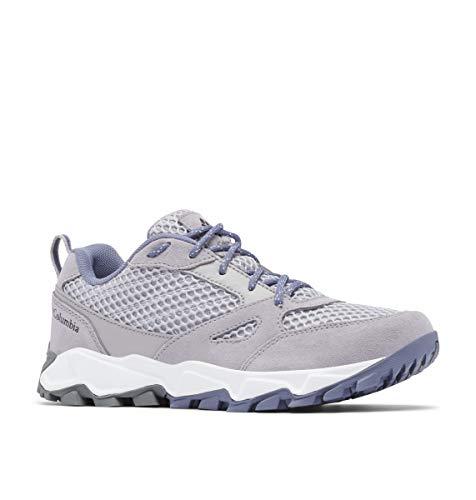 Columbia womens Ivo Trail Breeze Sneaker, Grey Ice/New Moon, 7.5 US
