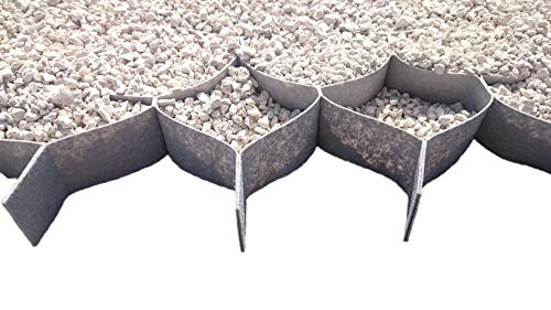 Stabilisateur de gravier 5cm hauteur (10x10cm) - 1x10m - 10m2 (6,99 €/m2)
