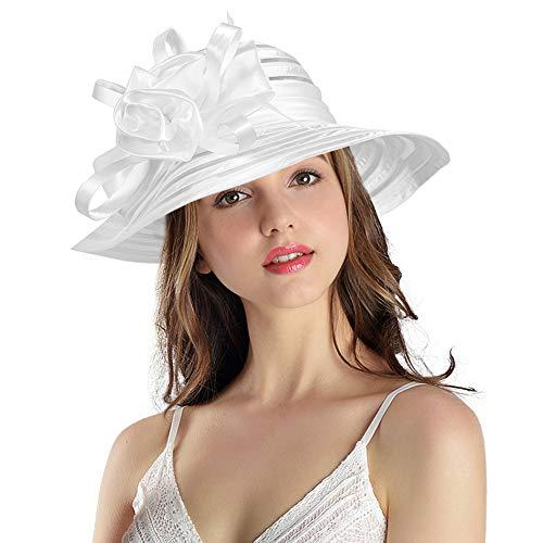 Floppy Wide Brim Cloche Hat