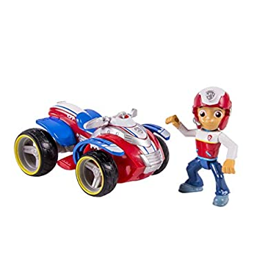 Paw Patrol 20067022 Ryder's Rescue ATV, Vechicle and Figure from Spin Master Toys Ltd