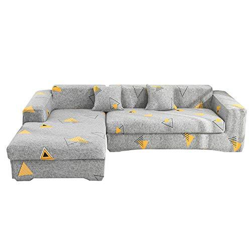 BAQIU Funda elástica para sofá, 1 Pieza, Funda para sofá, Protector de Muebles, Suave con Fondo elástico para niños, Mascotas, Tela de Licra y Jacquard, excelente decoración para el hogar