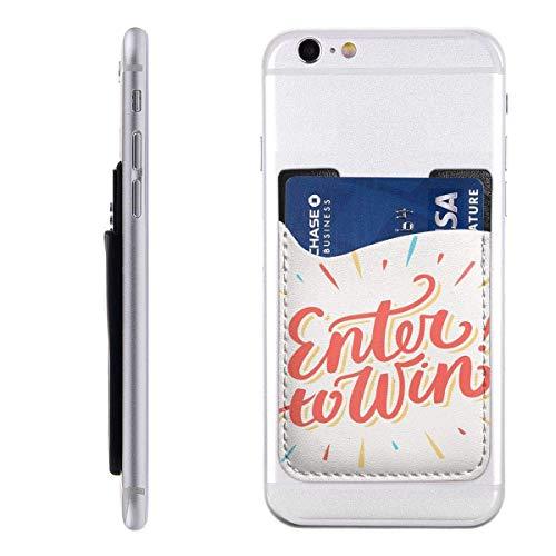 Interieur Shop portemonnee met kaart voor mobiele telefoon portemonnee ID-kaartvak Creditcardvak Contest Entra voor Vincere Chanel Raffle Word woord Lucky Play