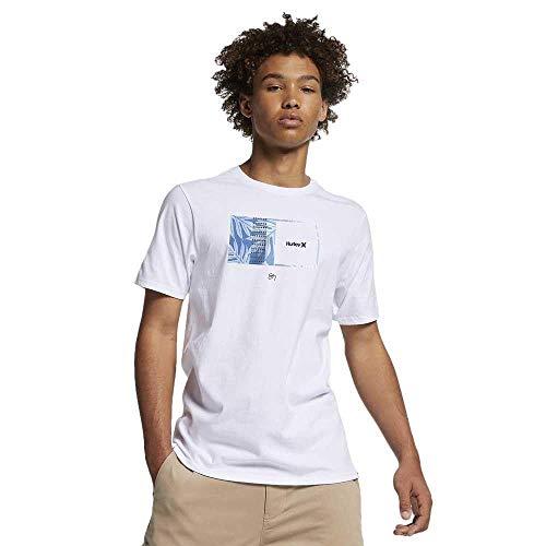 Camiseta Hurley Silk Sig Zane Moorea Branco