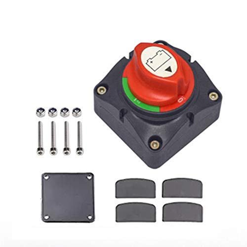 Batterie-Trennschalter Batterieblocker , Strom abschalten 12V 24V 48V für Auto Motorrad Schiff Boot Wohnmobil Wohnwagen