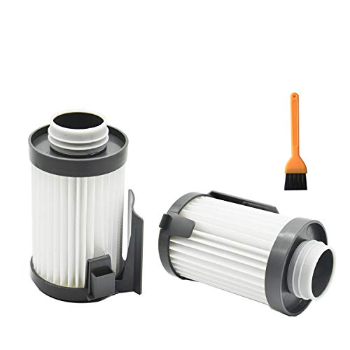 EZ SPARES 2pcs Replacement for Eureka DCF-10,DCF-14,Dust Cup HEPA Filter,Replaces Part # 62731, 62396 Attachment
