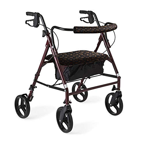 Unisex Rollator Walker Seat and Backrest Rollbar Covers Universal Soft Rollator Accessories Colorful Printing Patterns