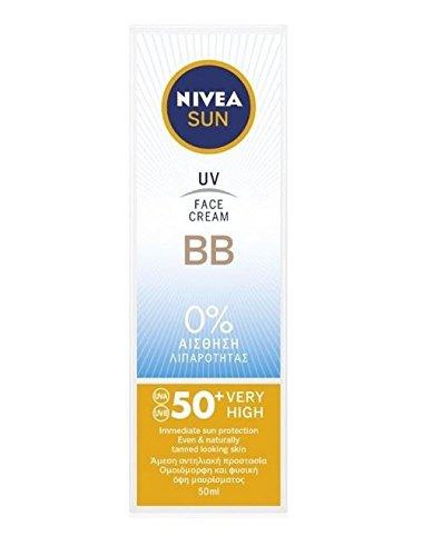 Nivea Sun UV BBCrème solaire protectrice pour le visage, protège contre les rayons UVA/UVB,...