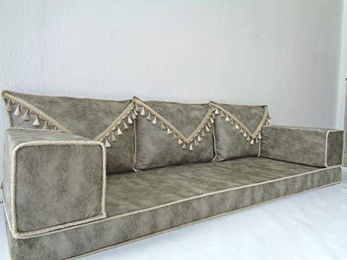Arabic floor seating,Arabic floor sofa,Arabic couch,Floor seating sofa,Oriental seating,Arabic majlis,jalsa - MA 103